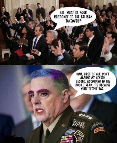 general woke afghanistan taliban dont assume gender