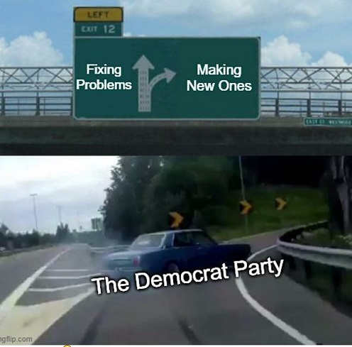 highway democrat party fixing problems offramp making new ones