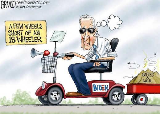 joe biden few wheels short of 18 gaffes lies