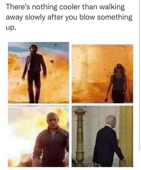 leaving after blowing something up wolverine sarah connor joe biden