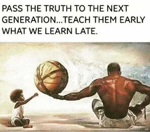 message pass truth new generation early what learn late