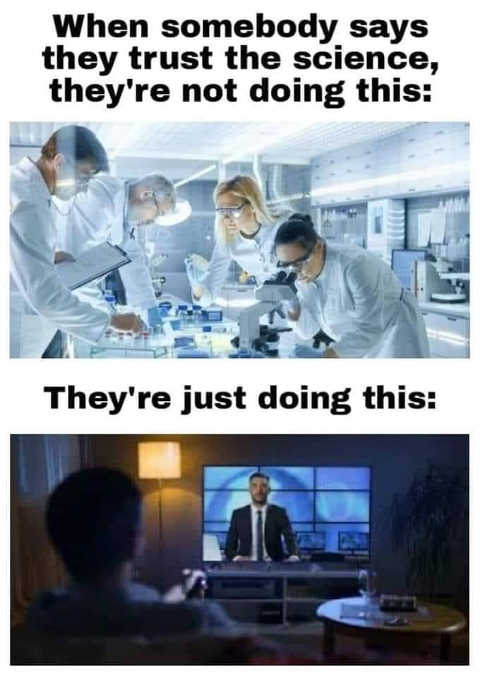 message trust the science not lab research believing media tv