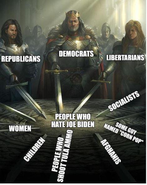 people hate joe biden women republicans democrats libertarians corn pop afghanis