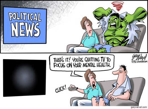 political news incredible hulk quitting tv focus on mental health