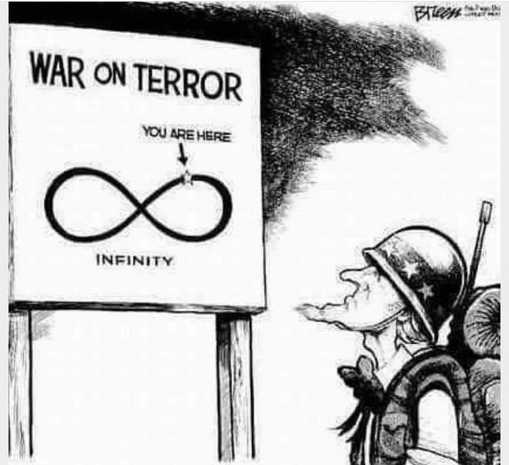 war on terror infinity you are here