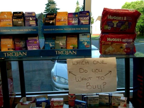which one to buy trojan condoms huggies diapers