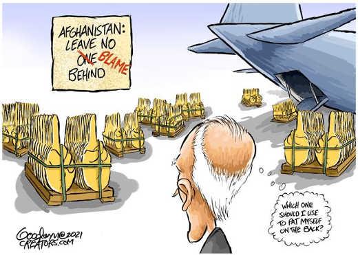 afghanistan leave no blame behind pat back joe biden