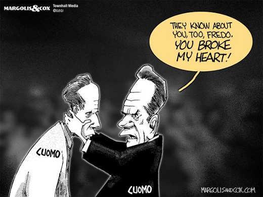 fredo cuomo andrew sexual harassment godfather broke my heart