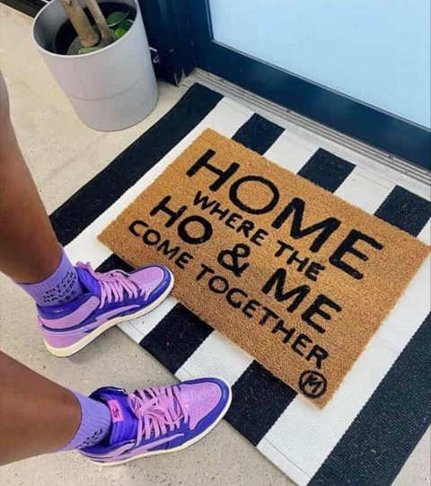 home mat where ho and me come together