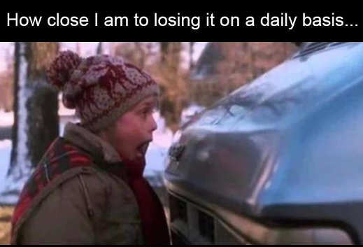 how close losing it daily kevin home alone car