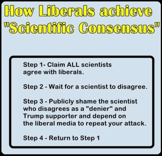 lesson scientific consensus steps all agree destroy those who dont