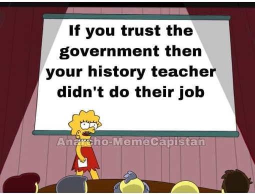 message lisa simpson if trust government history teacher didnt do their job