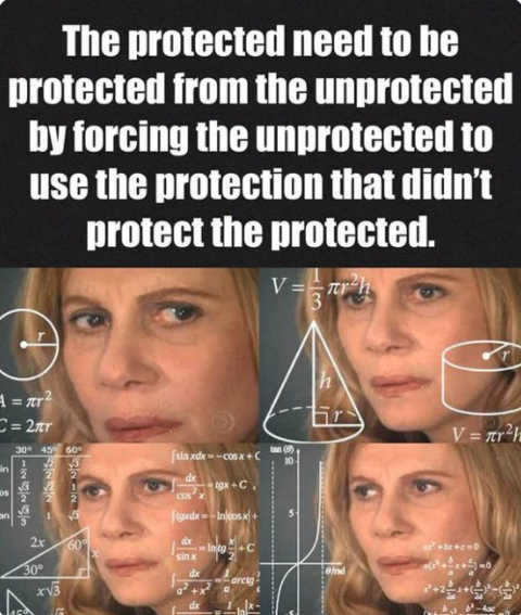 protect the unprotected from protected