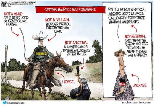 whip immigration setting record straight border patrol mainstream media jackass