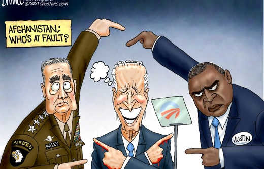 afghanistan whos at fault milley biden austin pointing fingers at each other