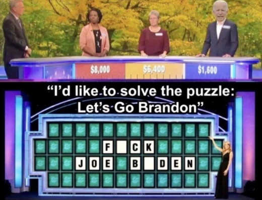 wheel of fortune fuck joe biden let's go brandon