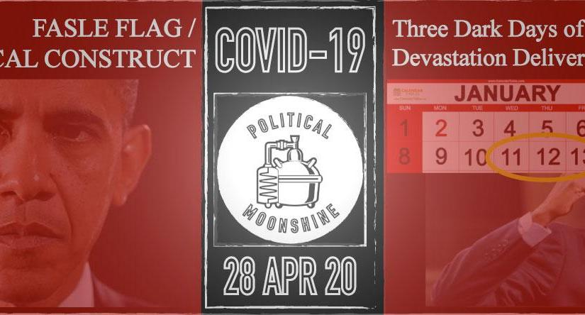 Three Dark Days of Obama Devastation Delivered COVID-19
