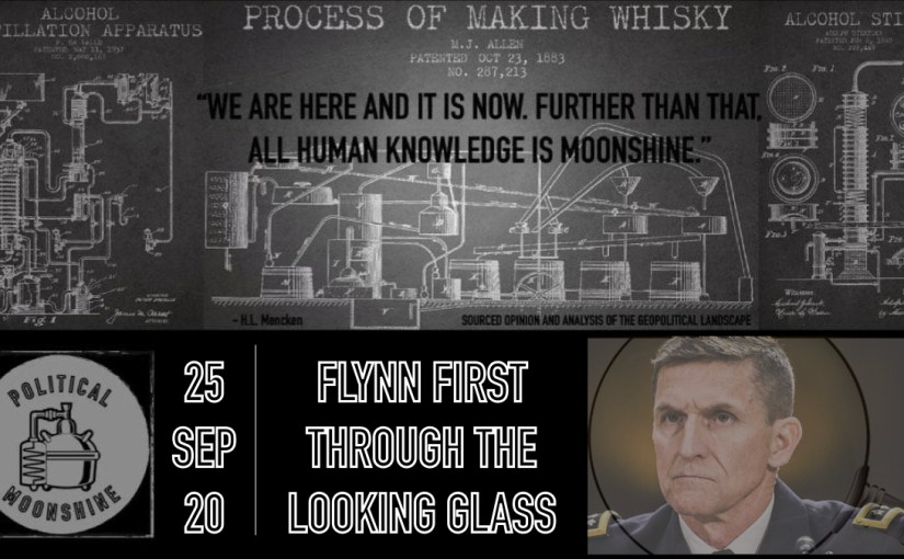 Flynn First Through the Looking Glass