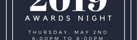 Department Awards Night - 5/2 6pm