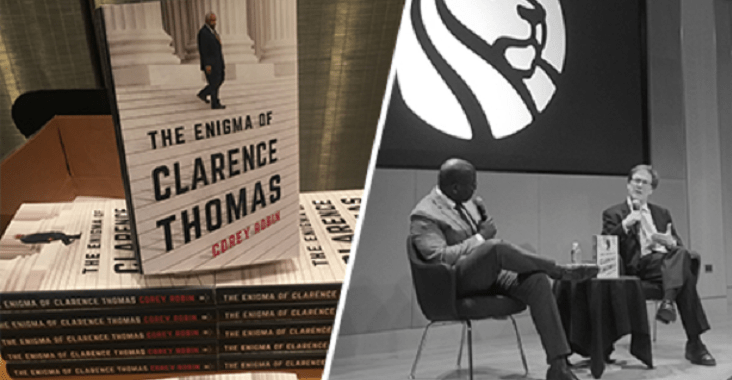 The Enigma of Clarence Thomas: New Book From Professor Corey Robin
