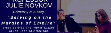 "Department Colloquium: Julie Novkov, ""Serving on the Margins of Empire"" Thursday March 12, 4:15pm"
