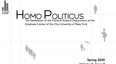 Read the Spring 2020 Edition of Homo Politicus