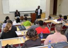 Prof. Anyang' Nyong'o speaks