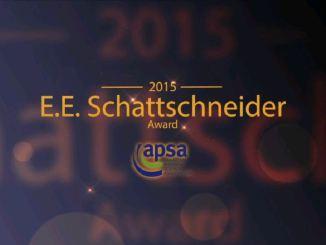 View Schattschneider Award