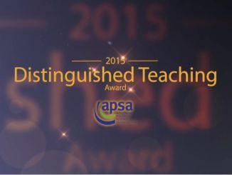 View Teaching Award