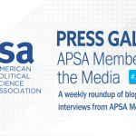 Press Gallery: APSA Members in the Media