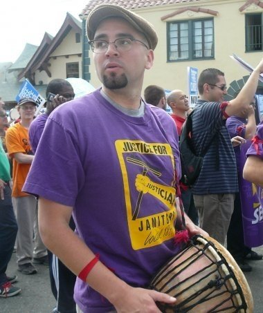 Marching with Janitors