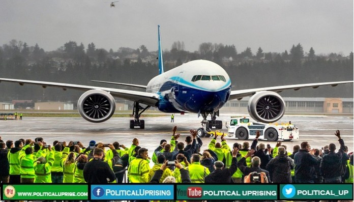 World's largest twin-engine 777X airliner completes maiden flight