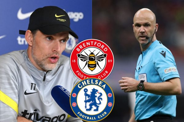 Thomas Tuchel Sends Message To Anthony Taylor Ahead Chelsea Brentford Game
