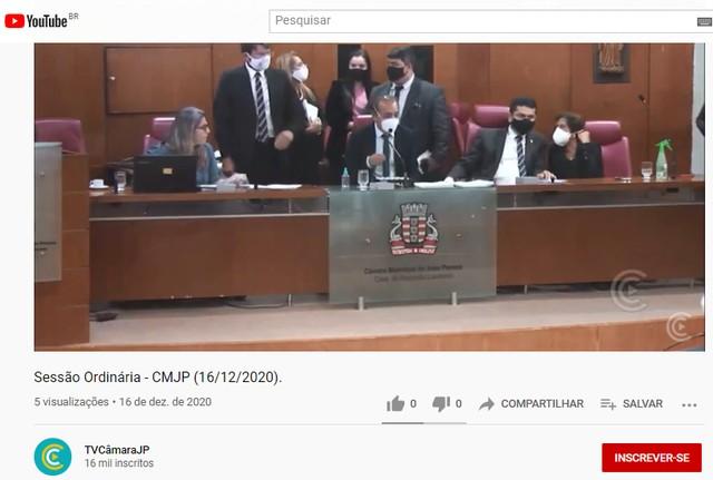Câmara de João Pessoa diz que aumento é legal e vai recorrer de decisão que barrou reajuste