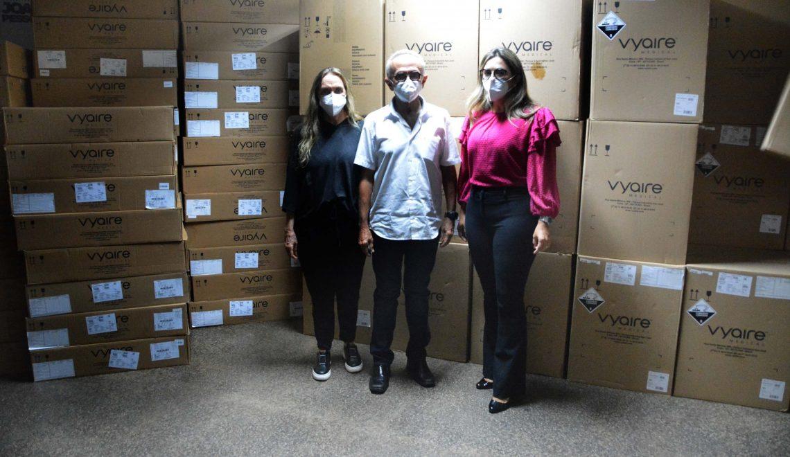 Covid-19: 70 ventiladores vão ser distribuídos entre hospitais e UPAs de João Pessoa