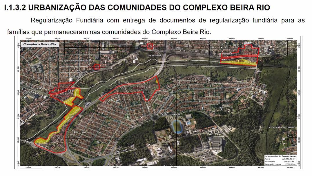 Comunidades da Beira Rio, na capital, vão passar por processo de urbanização