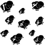 wall-stickers-for-kids-counting-sheep