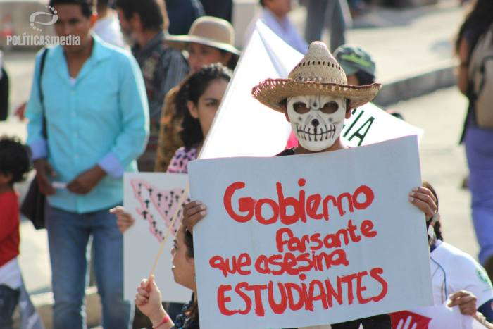 Fotografía: Tiyako Felipe | 1º Jornada de Acción Global por Ayotzinapa