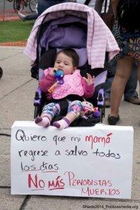 23 de febrero de 2014 se llevaron a cabo en diferentes partes de la República Mexicana concentraciones bajo la convocatoria ¡Prensa, no disparen!