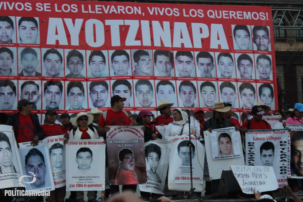Fotografía Tlaliztitzin | Mitin por la VIII Acción Global por Ayotzinapa