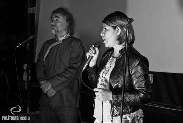 Xitlali Miranda, miembro del grupo Los Otros Desaparecidos.   Fotografía: Mónica Olivares