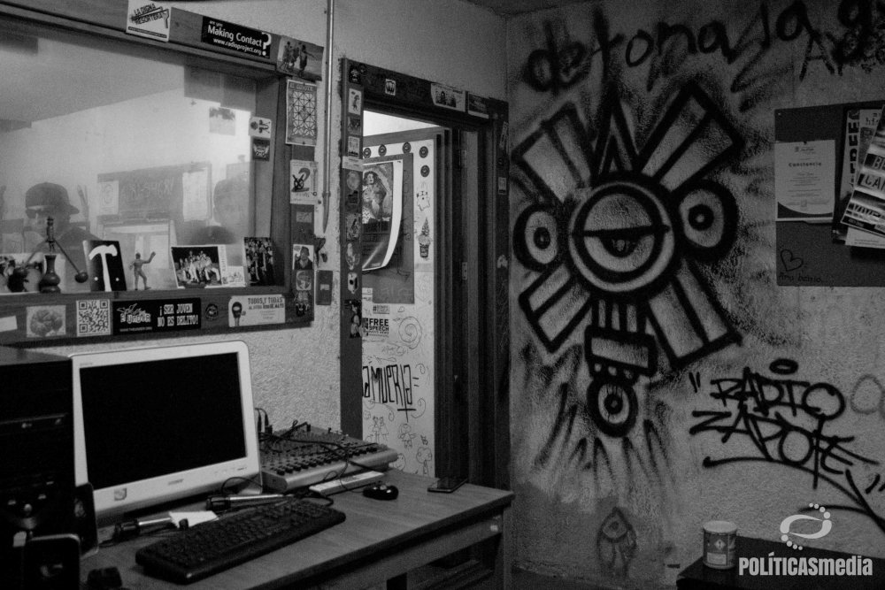 Instalaciones de Radio Zapote | Fotografía: Mónica Olivares