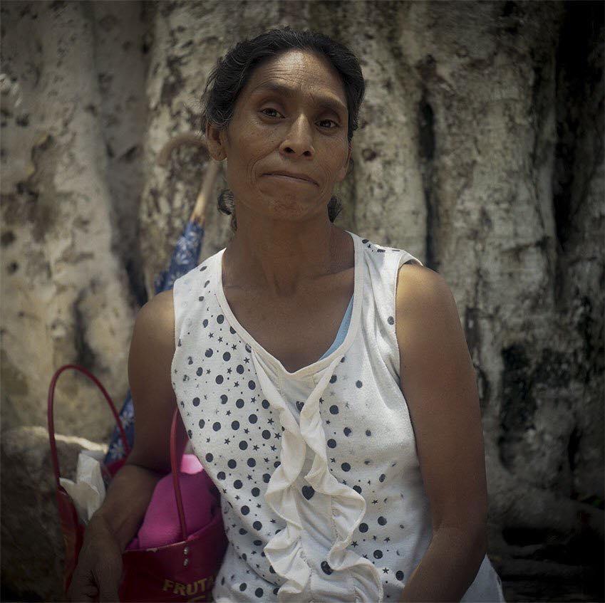 Minerva Bello Guerrero, madre de Everardo Gutiérrez Bello, desaparecido por el estado mexicano.