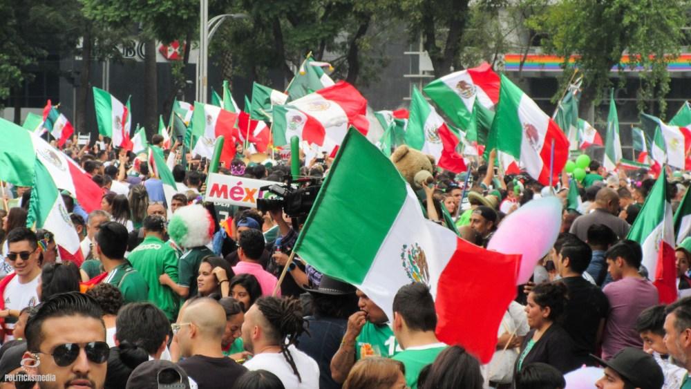 XL Marcha del Orgullo Gay en la Ciudad de México. Foto: Paty Olivares.