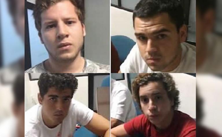 """Imagen retomada del artículo: """"Miembros de Los Porkys acusados de violar a joven huyen de México"""" de Record Chiapas."""