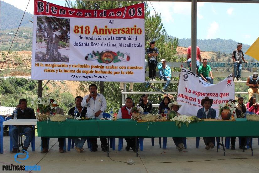 Alacatlatzala, pueblo de origen ancestral, celebra su aniversario fundacional. Foto: Tiyako Felipe.