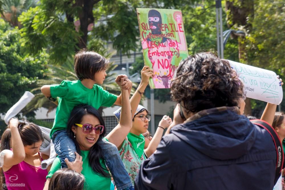 Marcha #8A en Ciudad de México. Foto: Paty Olivares.