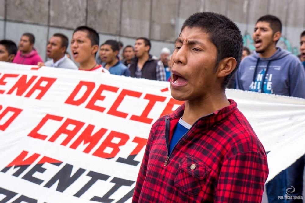 A 50 años del 68, marcha en la Ciudad de México, 2 de octubre de 2018. Foto: Paty Olivares.