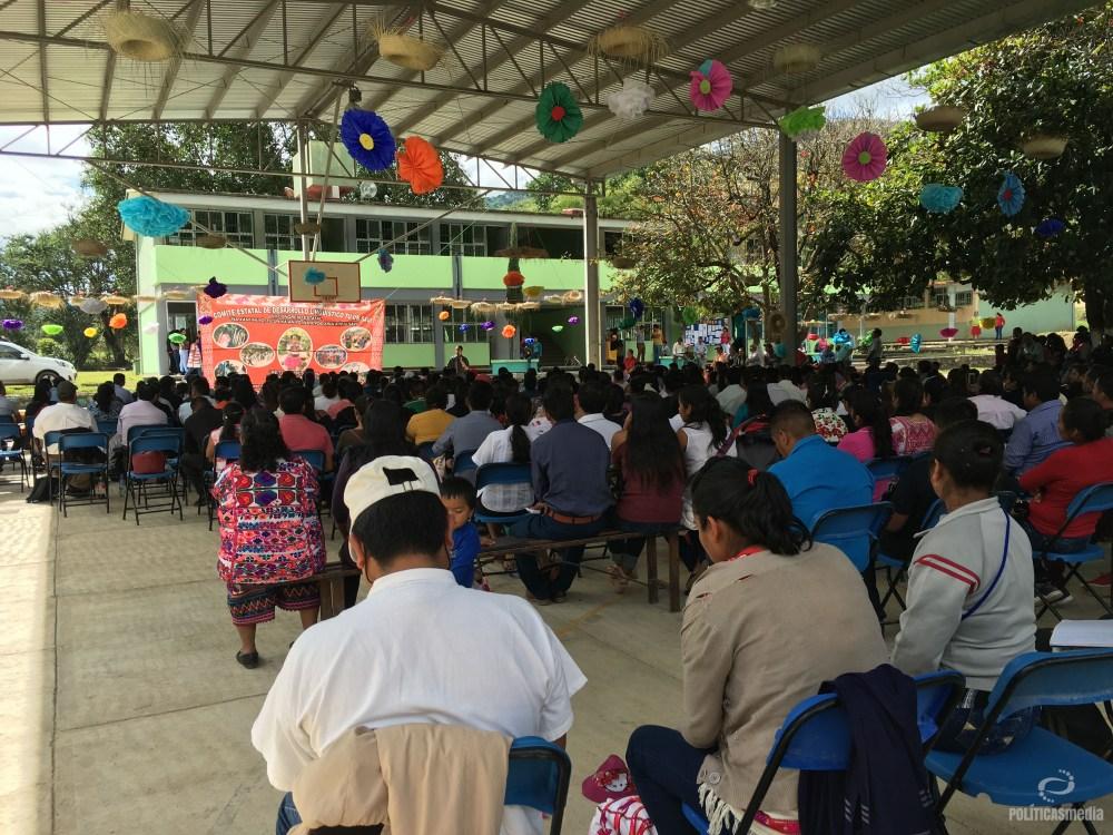 Foto: VII Congreso Tuún Savi (mixteco) en la comunidad de Alcozauca, estado de Guerrero, México. 11  y 12 de octubre DE 2018.