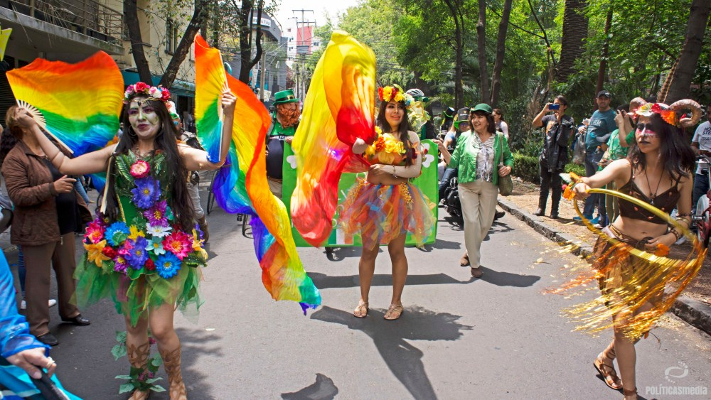 Desfile del San Patricio Fest 2019, Ciudad de México, 17 de marzo de 2019. Foto: Paty Olivares.